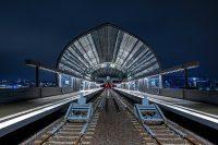 Elbbrücken. Der neue U-Bahnhof in Hamburg
